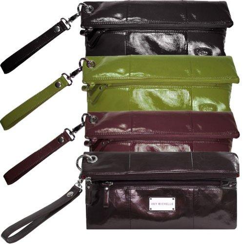 amy-michelle-designer-diaper-bag-black-poppy-clutch-w-changing-pad