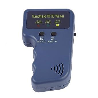 Escritor RFID, 125 KHz Computadora de Mano RFID Lector de Tarjetas H/ID Escritor