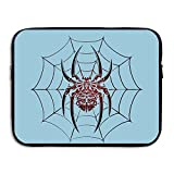 Water Repellent Laptop Case Bags Printed Ultrabook Briefcase Sleeve Bags Spider Weaving Network Laptop Cover For Macbook Pro/Notebook/Acer/Asus/Lenovo Dell 13 Inch