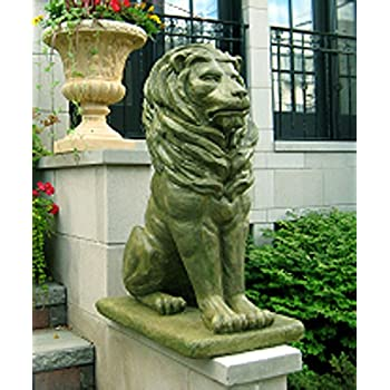 Amazoncom Gifts Decor Lion Guardian Crested Shield Home Garden