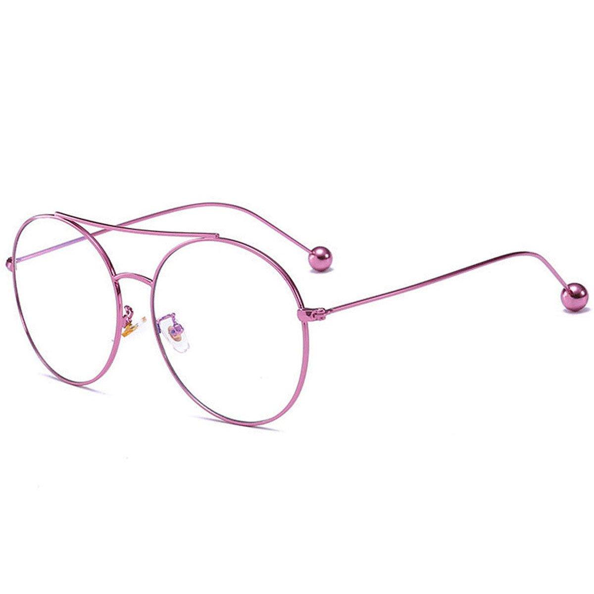 Uomini Donne Polarizzato Occhiali Da Sole Fresco Classic Twin-Travi Telaio In Metallo Lusso Guidare Specchio Occhiali Da Vista UV400,C1-OneSize
