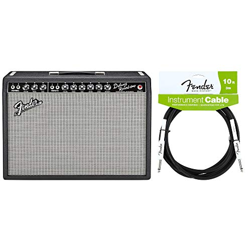 Fender '65 Deluxe Reverb Reissue Cable Bundle - Fender 65 Deluxe Reverb Amp