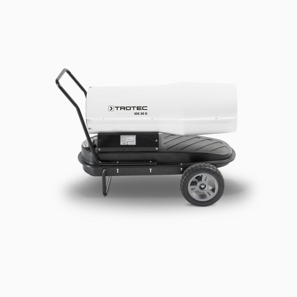 TROTEC 1430000065 - Calefactor de gasoil directo IDE 30 D potencia máxima 30 kW (25.800 kcal): Amazon.es: Bricolaje y herramientas