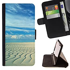 For LG Nexus 5 D820 D821 Sandy beach Style PU Leather Case Wallet Flip Stand Flap Closure Cover