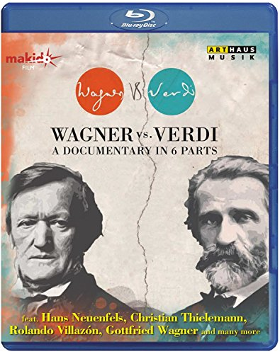 Wagner Vs. Verdi - A Documentary in 6 Parts [Blu-ray] (Wagner Products compare prices)