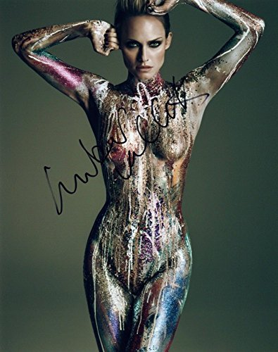 Amber Valletta Signed Autograph 8x10 Photo Hot Sexy Nude Model Actress COA from Unknown