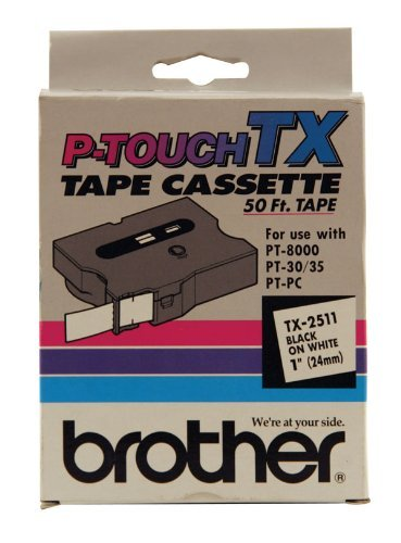 BRTTX2511 - Brother TX Series Laminated Tape Cartridge ()