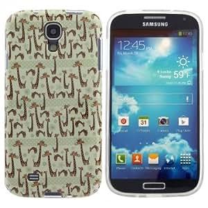 Cute Giraffe Pattern Protective Back Case For Samsung Galaxy S4 I9500
