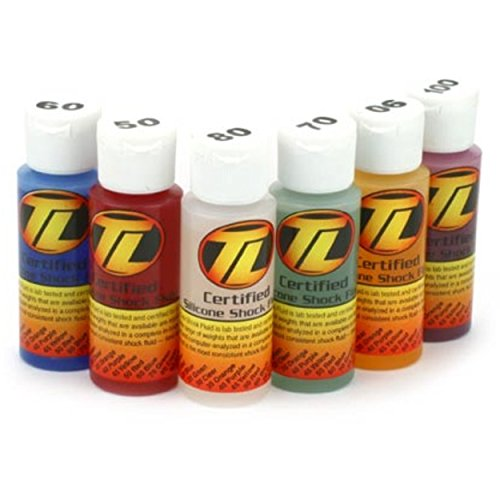 Rc Shock Oil - Team Losi Shock Oil 6Pk 5060708090100 2oz