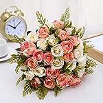 Aurdo-Artificial-Flowers-Fake-Silk-Vintage-Rose-Flowers-Bouquet-for-Room-Kitchen-Garden-Wedding-Party-Decor-2-Pack-