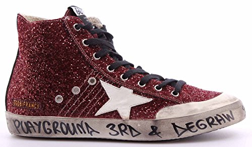 GOLDEN GOOSE Zapatos Hombres Sneakers G27U591.V1 Turquoise Suede Star Francy New