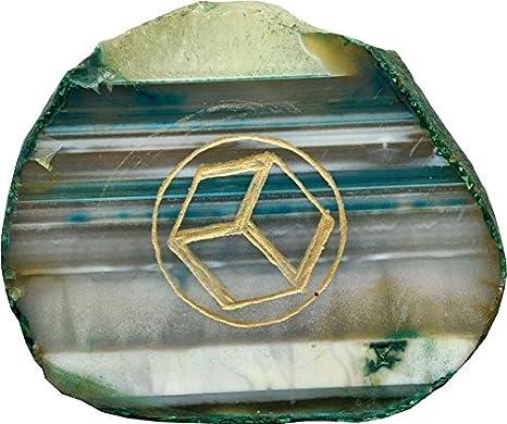 Aldomin Antahkarana A Powerfull Healing Symbol Agate Stone 35