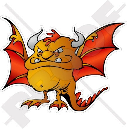 DEVIL Hell Dragon BAT MONSTER Beast 4,6