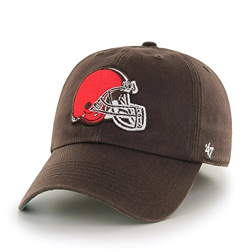 NFL Cleveland Browns '47 Brand Franchise Fitted Hat, Brown, Medium