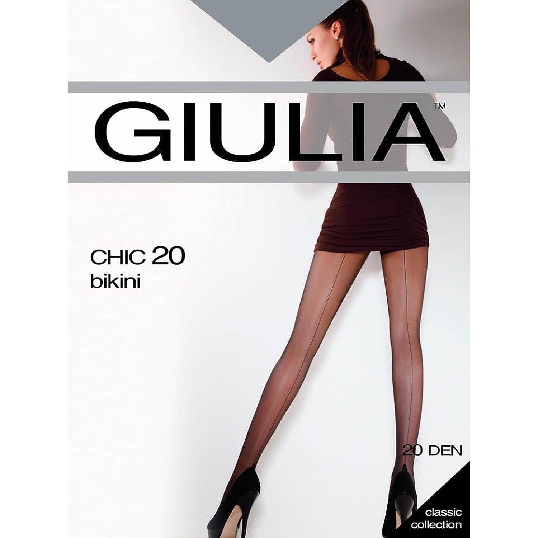 Giulia Chic 20 bikini seamed tights 4-L (5'6
