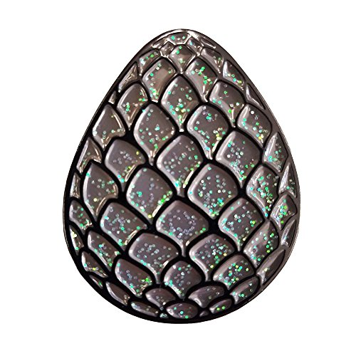 Black Dragon Wyvern Egg Enamel Pin