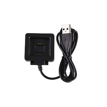 HKEPS Cargador Fitbit Blaze, Base de Carga USB de Repuesto ...