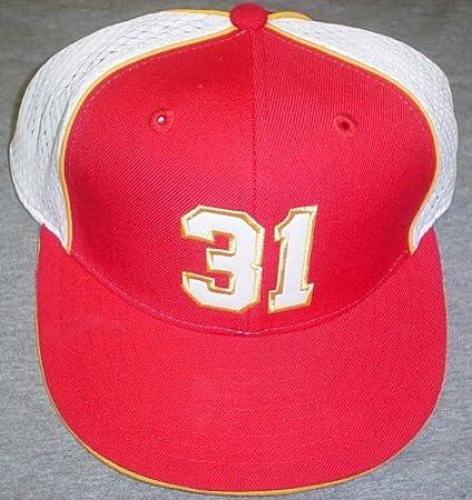 Amazon.com   Kansas City Chiefs Priest Holmes  31 Players Reebok Hat ... eeaaf7050c9