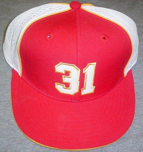 Kansas City Chiefs Priest Holmes #31 Players Reebok Hat Size 7 1/8