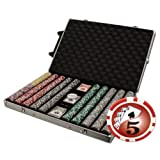 Brybelly 1000-Count Yin Yang 14 gram Poker Chip Set (Small Image)
