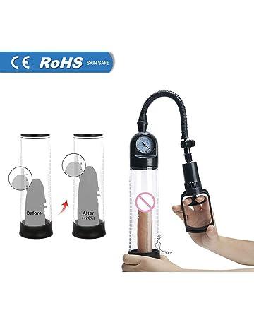 Okminiok Peni Vacuum Pump With Watch Enlargement Extender Exerciser Waterproof Adults Penes Extender Enlargement Machine For