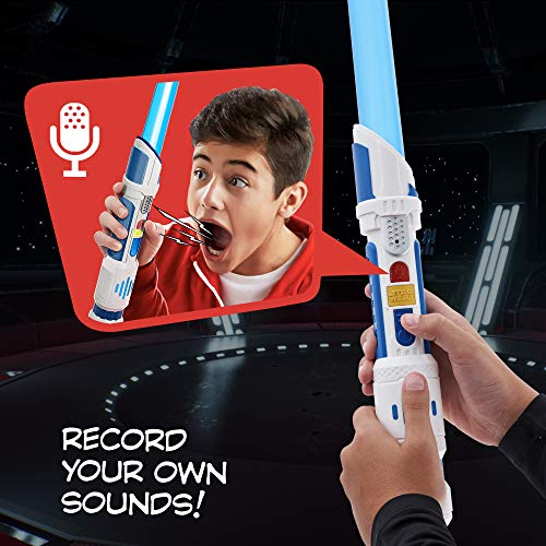 51mKjhJ4oNL - Star Wars Scream Saber Lightsaber Toy, Record Your Own Inventive Lightsaber Sounds & Pretend to Battle, for Kids Roleplay Ages 4 & Up