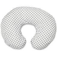 Boppy Original Nursing Pillow and Positioner, Geo Circles, Cotton Blend Fabric with allover fashion
