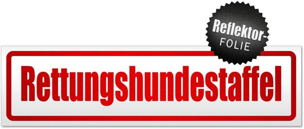 Kiwistar Rettungshundestaffel Magnetschild Schild Magnetisch Auto