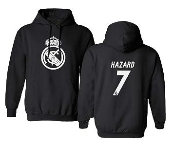 Amazon.com: Tcamp Real Madrid Eden Hazard #7 - Sudadera con ...