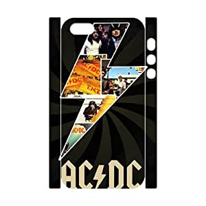 QSWHXN Rock Band ACDC Phone 3D Case For iPhone 5,5S [Pattern-2]