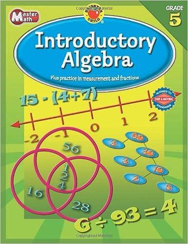 Ebook à télécharger gratuitementMaster Math, Grade 5: Introductory Algebra (Brighter Child Workbooks) (Littérature Française) PDF ePub