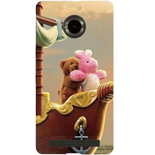 Casotec Funny Titanic Design Hard Back Case Cover for Micromax YU Yuphoria AQ5010 / AO5010
