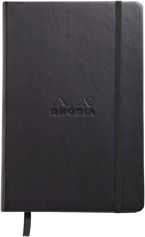 LIRPE-240-LGR-A-LKT5 couverture rigide cousue Smyth format quadrill/é .63,5 cm 20,3 x 29,5 cm BookFactory/® Carnet dinventeur noir 240 pages couverture en simili cuir noir