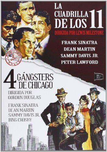 La Cuadrilla De Los 11 (Ocean's Eleven (Ocean's 11)) (1960) / 4 Gángsters De Chicago (Robin and the 7 Hoods) (1964) (2 Dvds) (Import) (Robin And The 7 Hoods Dvd)