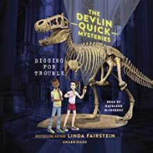 Digging for Trouble Audiobook by Linda Fairstein Narrated by Kathleen McInerney