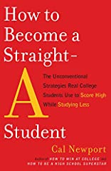 Looking to jumpstart your GPA? Most college students believe that straight A's can  be achieved only through cramming and painful all-nighters at the library. But Cal Newport knows that real straight-A students don't study harder—they study s...