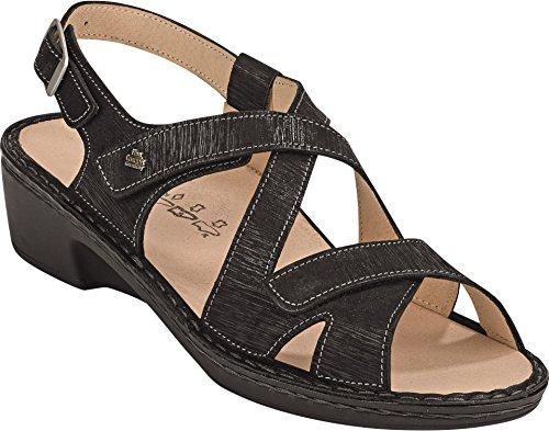 Sandales Comfort Femme Pour Finn Noir AUR4q0qS