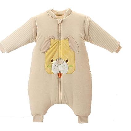 CWLLWC Saco de Dormir para bebé,Fractura Pierna otoño-Invierno Engrosamiento de Tejido de