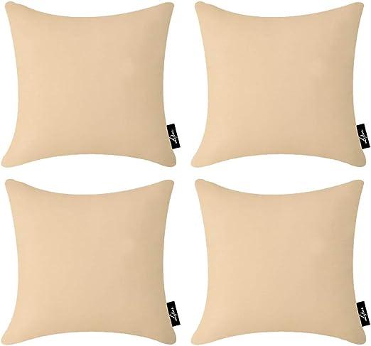VinMea LIPOR Pack of 4 Waterproof Outdoor Pillowcase for Garden ...