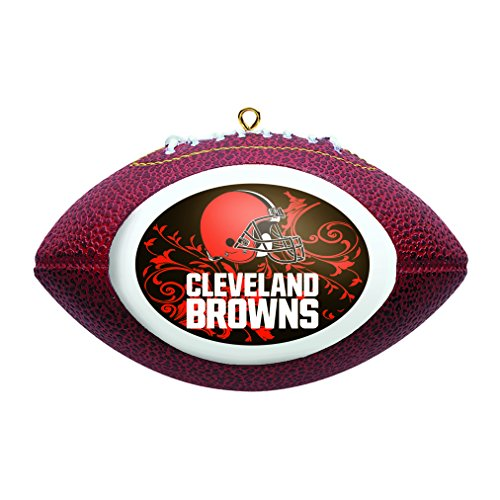NFL Cleveland Browns Football Ornament