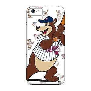 New Premium Flip Case Cover Mascots Skin Case For Iphone 5c