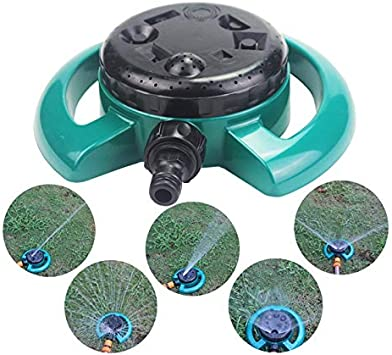 8 característica que no es disco aspersores ajustable Multi-modo de Riego Jardín césped de jardín herramientas de riego: Amazon.es: Bricolaje y herramientas
