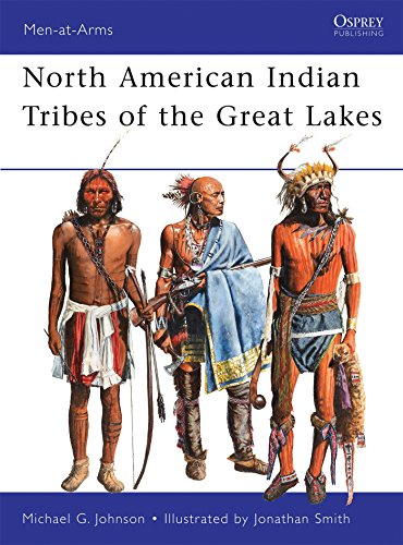 North American Indian Tribes of the Great Lakes (Men-at-Arms) (American Indian Games)