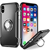 Ring Holder Case for Apple iPhone Xs/iPhone X/iPhone 10 (5.8 inch) Multifunction Hybrid