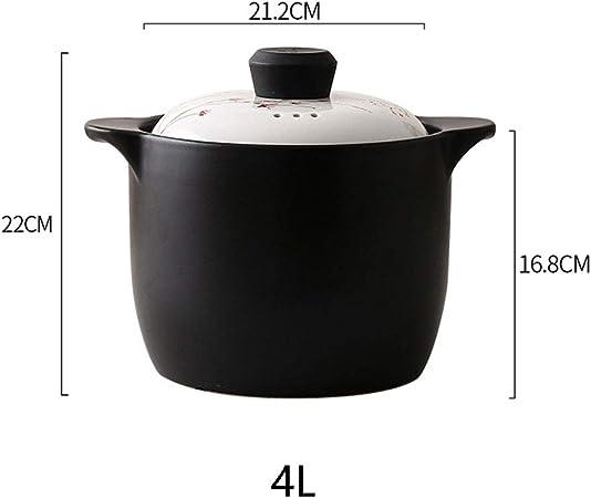 Cacerola de cerámica de alta temperatura y resistente al