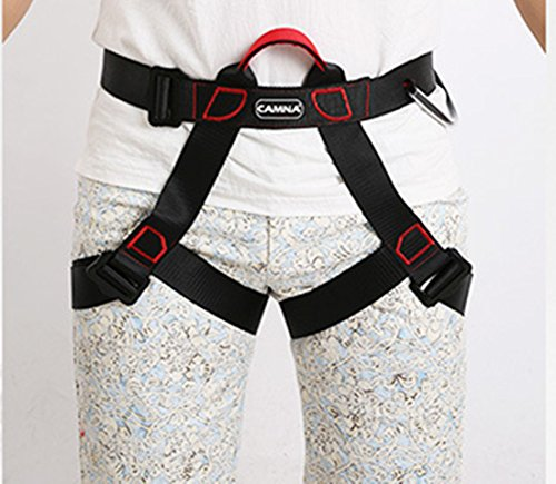 Climbing Harness, Full Body Harness, Oumers Safe Belts Guide Harness For Outward Band Expanding Training, Caving Rock Climbing Rappelling Equip, Safety Comfort, Pro Avao Bod Fast Harness