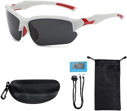 LABAICAI 2019 Gafas de Ciclismo polarizadas fotocromáticas Gafas de Sol for Hombres Mujeres Gafas Blancas UV MTB Bicicleta Deporte Gafas Accesorios de Bicicleta (Color : White): Amazon.es: Deportes y aire libre