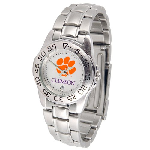 Ladies Clemson Tigers Watch (Clemson Tigers Gameday Sport Ladies' Watch with a Metal Band)