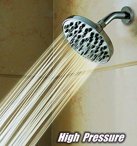 "WantBa 6"" High Pressure Rainfall Massage ShowerHead"