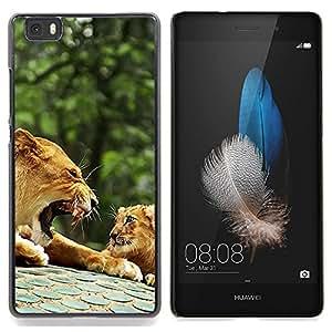 "Planetar ( Fumar ganso Arte Malo Pintura"" ) Huawei Ascend P8 Lite (Not for Normal P8) Fundas Cover Cubre Hard Case Cover"